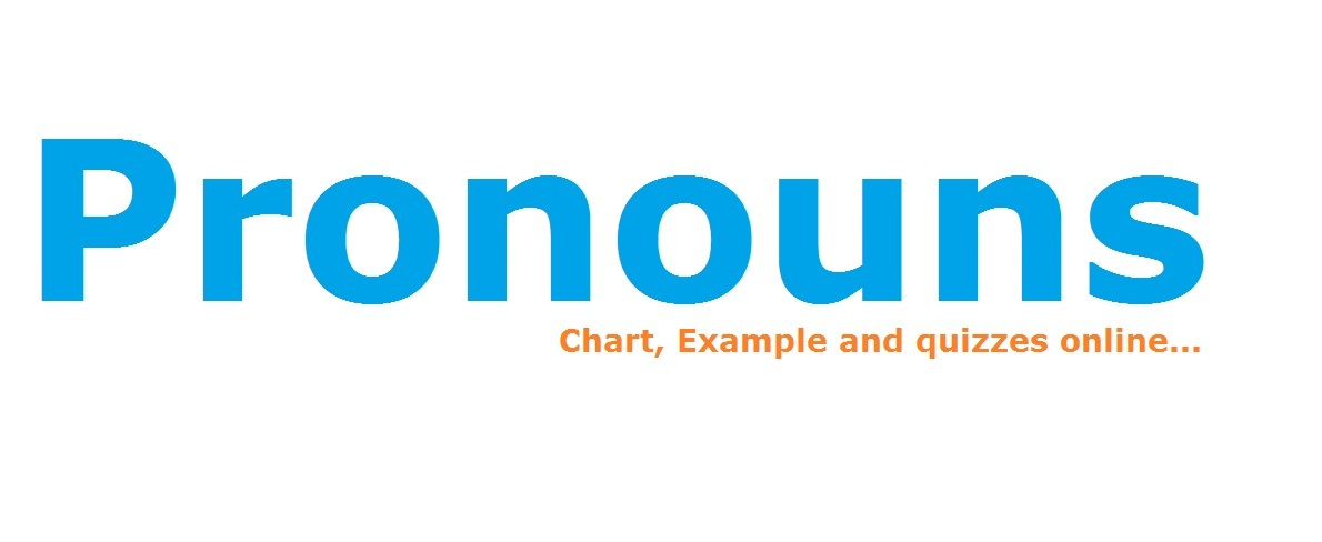 Pronoun, Types of Pronouns, Pronouns Examples 2018
