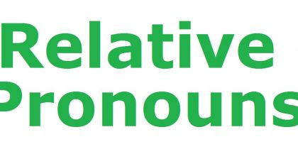 Relative Pronouns Chart, Definition, Examples and Exercise 2018